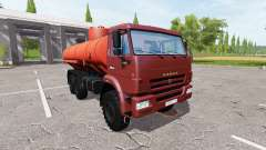 KAMAZ 43118 Inflamables