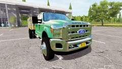 Ford F-550 Stakebed para Farming Simulator 2017