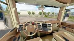 Los interiores de Renault trucks