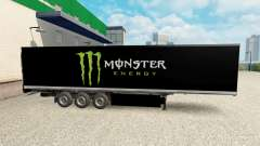 La piel de Monster Energy para la semi