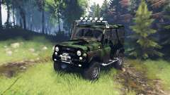 UAZ 315195 hunter turbodiesel expedición v5.0