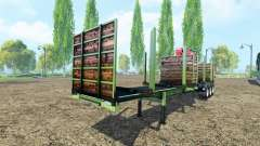 Timber trailer Fliegl