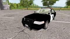 Ford Crown Victoria Police v1.1 para Farming Simulator 2017