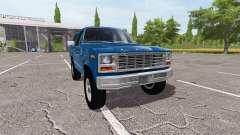 Ford Bronco XLT para Farming Simulator 2017