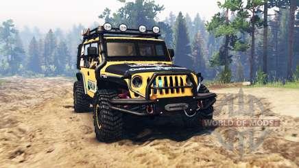 Jeep Wrangler para Spin Tires