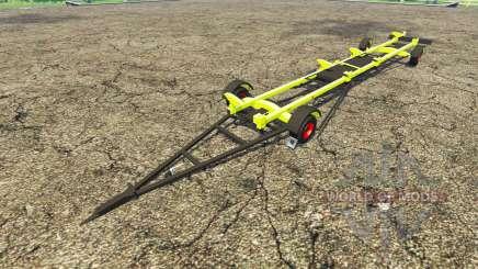 Trailer de CLAAS cosechadora para Farming Simulator 2015