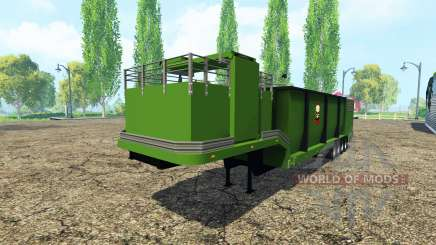 Separarately remolque para Farming Simulator 2015