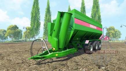 BERGMANN GTW 430 v1.1 para Farming Simulator 2015