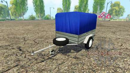 Car trailer para Farming Simulator 2015