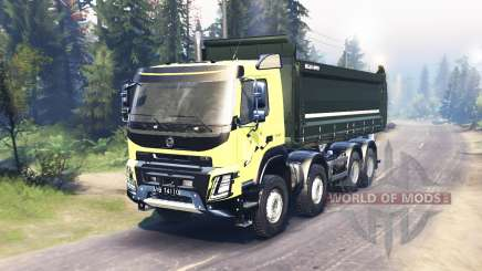 Volvo FMX 2014 para Spin Tires