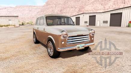 Satsuma 210 1958 v2.0 para BeamNG Drive