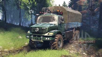 Mercedes-Benz Zetros 2733 A v5.0 para Spin Tires