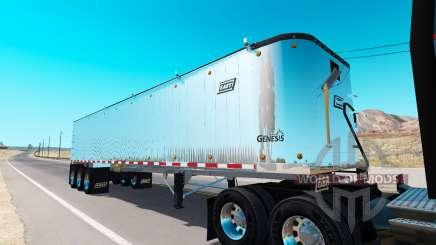 Volquete semirremolque para American Truck Simulator