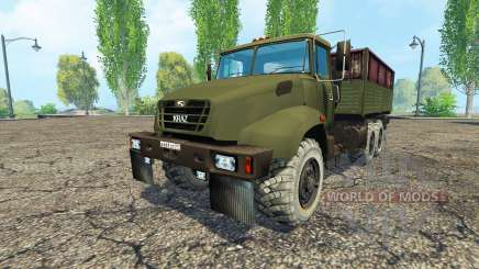 El KrAZ B18.1 v1.1 para Farming Simulator 2015