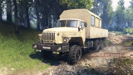 Ural 4320-1912-40 v3.0 para Spin Tires