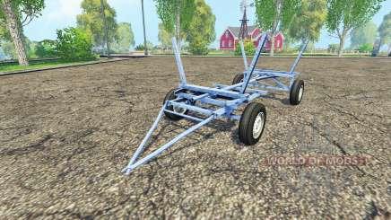 Homemade small trailer para Farming Simulator 2015