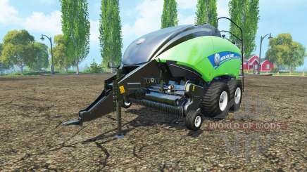 New Holland BigBaler 1290 gras bale v3.0 para Farming Simulator 2015