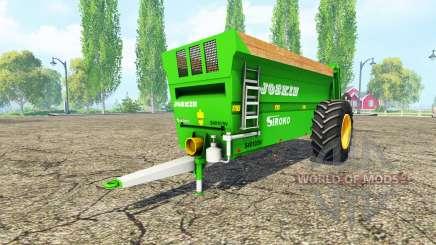 JOSKIN Siroko 4010-9V v2.0 para Farming Simulator 2015