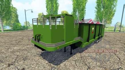 Separarately semi-remolque v1.1 para Farming Simulator 2015