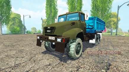 El KrAZ B18.1 agrícola apodo para Farming Simulator 2015