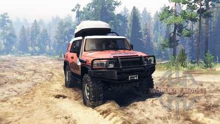 Toyota FJ Cruiser Expedición para Spin Tires