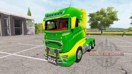 Scania R1000 John Deere v2.0 para Farming Simulator 2017