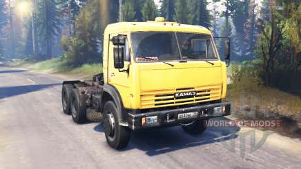 KamAZ 54115 v7.0 para Spin Tires
