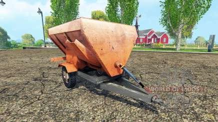 Mixer wagon para Farming Simulator 2015