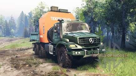 Mercedes-Benz Zetros 2733 A v4.0 para Spin Tires