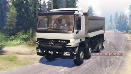Mercedes-Benz Actros (MP2) 8x8 v0.9 para Spin Tires