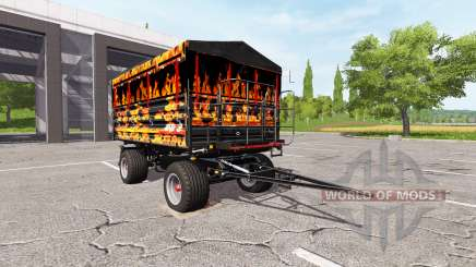METALTECH DB 8 flame para Farming Simulator 2017