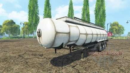 Semitrailer tank para Farming Simulator 2015