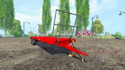 Remorques Chevance PF 90 v0.99 para Farming Simulator 2015