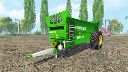 JOSKIN Siroko 4010-9V para Farming Simulator 2015