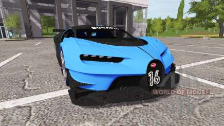 Bugatti Vision Gran Turismo para Farming Simulator 2017