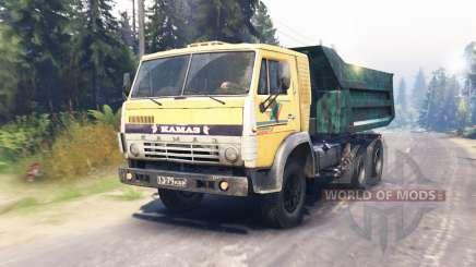 KamAZ-55118 para Spin Tires