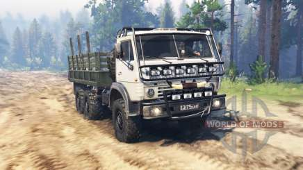 KamAZ 4310М para Spin Tires