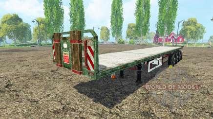 Kogel semitrailer v1.2 para Farming Simulator 2015