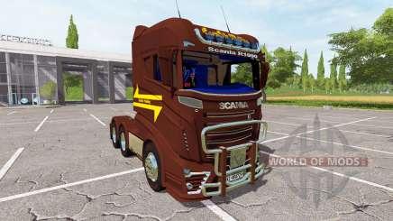 Scania R1000 3-axis para Farming Simulator 2017