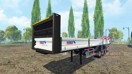 Schmitz Cargobull platform trailer para Farming Simulator 2015