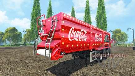 Krampe SB 30-60 Coca-Cola v2.2 para Farming Simulator 2015