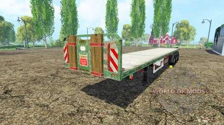 Kogel semitrailer para Farming Simulator 2015