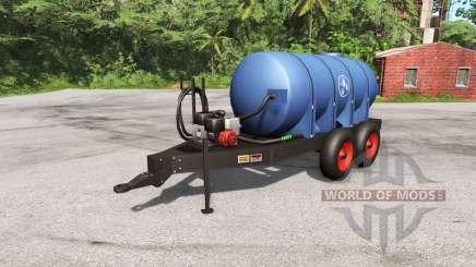 Remolque con tanque de para BeamNG Drive