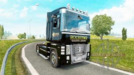 Rockstar Energy piel para Renault Magnum tractora para Euro Truck Simulator 2