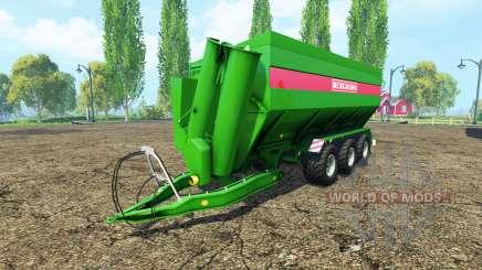 BERGMANN GTW 430 para Farming Simulator 2015