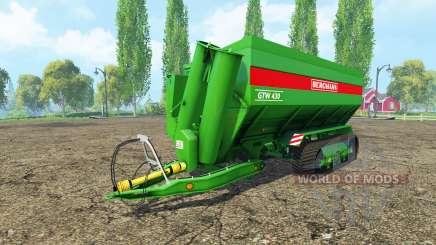 BERGMANN GTW tracks para Farming Simulator 2015