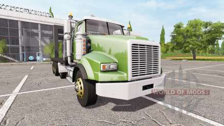 Lizard SX 210 Twinstar Flatbed 4-axles para Farming Simulator 2017