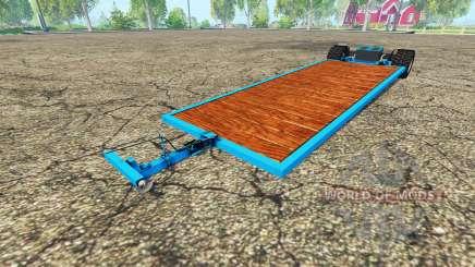 Low platform trailer v3.0 para Farming Simulator 2015
