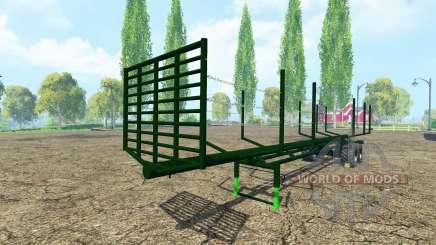 Semi-trailer timber para Farming Simulator 2015