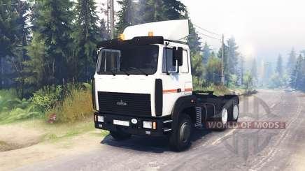 MAZ 64255 para Spin Tires